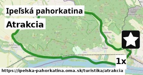 ilustračný obrázok k Atrakcia, Ipeľská pahorkatina