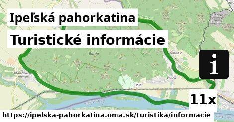 ilustračný obrázok k Turistické informácie, Ipeľská pahorkatina