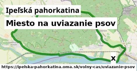 ilustračný obrázok k Miesto na uviazanie psov, Ipeľská pahorkatina