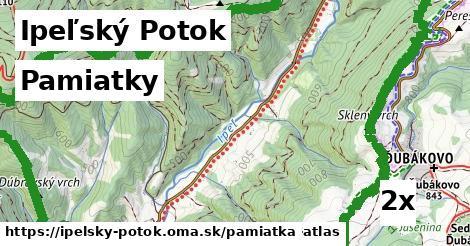 pamiatky v Ipeľský Potok