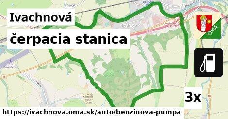 ilustračný obrázok k čerpacia stanica, Ivachnová
