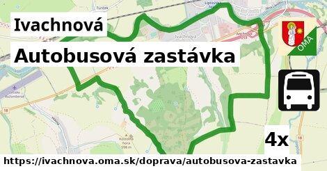 ilustračný obrázok k Autobusová zastávka, Ivachnová