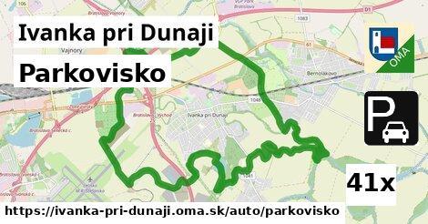 parkovisko v Ivanka pri Dunaji