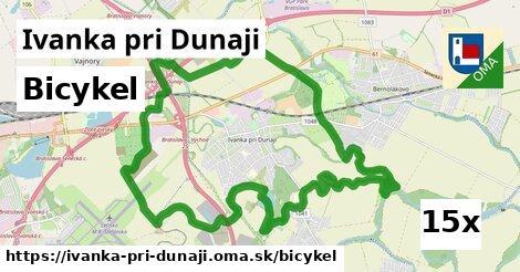 bicykel v Ivanka pri Dunaji