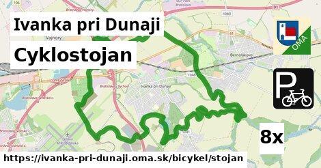 cyklostojan v Ivanka pri Dunaji