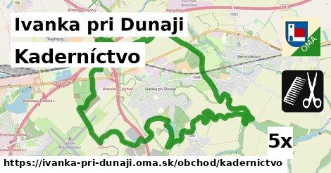 kaderníctvo v Ivanka pri Dunaji