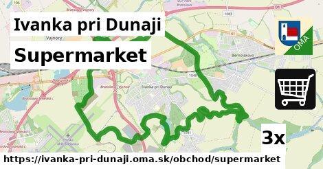 supermarket v Ivanka pri Dunaji