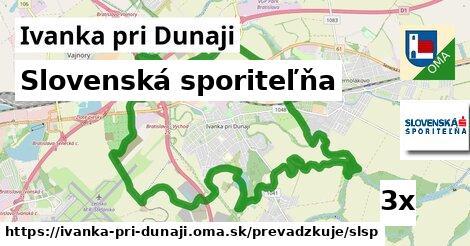 Slovenská sporiteľňa v Ivanka pri Dunaji