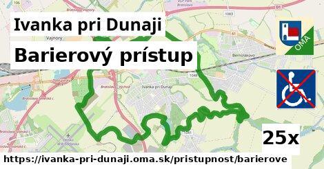barierový prístup v Ivanka pri Dunaji