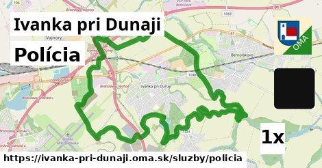 polícia v Ivanka pri Dunaji