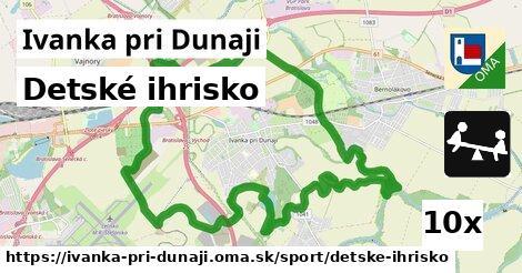 detské ihrisko v Ivanka pri Dunaji