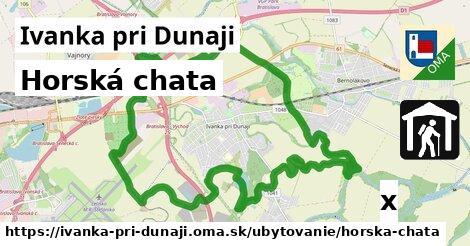 horská chata v Ivanka pri Dunaji