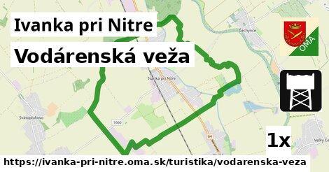 ilustračný obrázok k Vodárenská veža, Ivanka pri Nitre