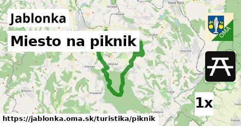 ilustračný obrázok k Miesto na piknik, Jablonka