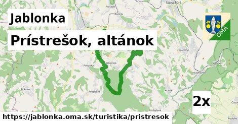 ilustračný obrázok k Prístrešok, altánok, Jablonka