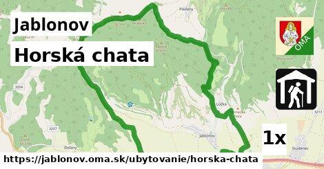 horská chata v Jablonov