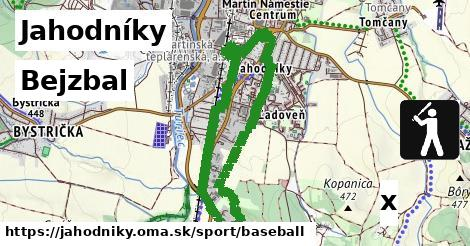 bejzbal v Jahodníky