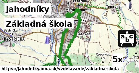 základná škola v Jahodníky