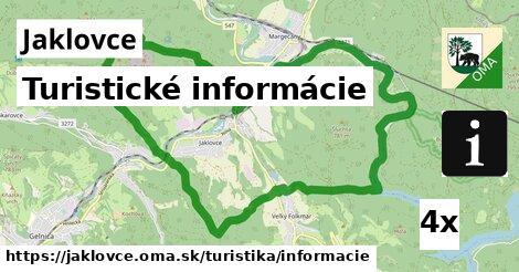 ilustračný obrázok k Turistické informácie, Jaklovce