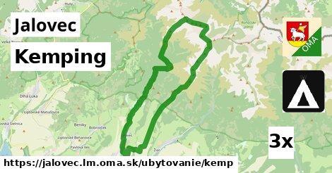 kemping v Jalovec, okres LM