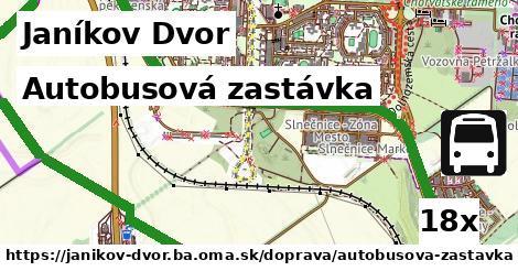 ilustračný obrázok k Autobusová zastávka, Janíkov Dvor