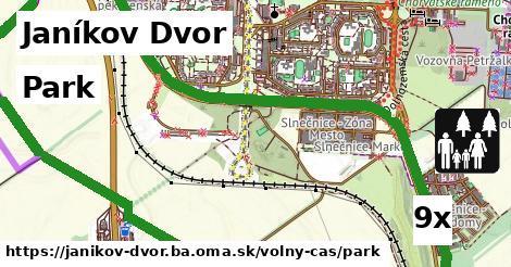 ilustračný obrázok k Park, Janíkov Dvor