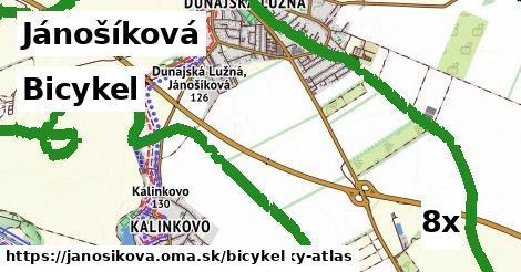 bicykel v Jánošíková