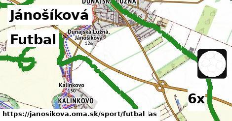 futbal v Jánošíková