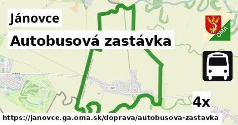 ilustračný obrázok k Autobusová zastávka, Jánovce, okres GA