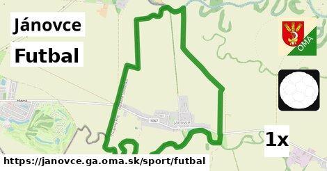 ilustračný obrázok k Futbal, Jánovce, okres GA