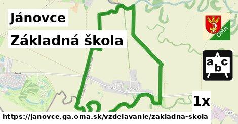 ilustračný obrázok k Základná škola, Jánovce, okres GA