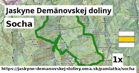 socha v Jaskyne Demänovskej doliny