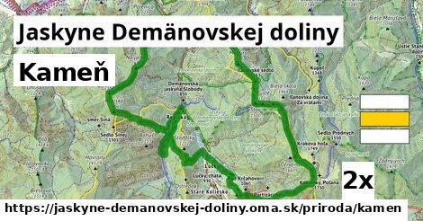 kameň v Jaskyne Demänovskej doliny