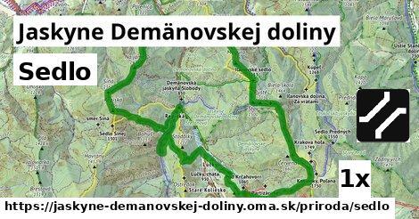 sedlo v Jaskyne Demänovskej doliny
