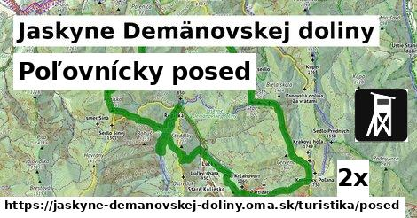 poľovnícky posed v Jaskyne Demänovskej doliny