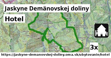 hotel v Jaskyne Demänovskej doliny