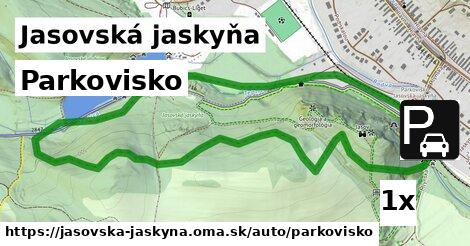 ilustračný obrázok k Parkovisko, Jasovská jaskyňa