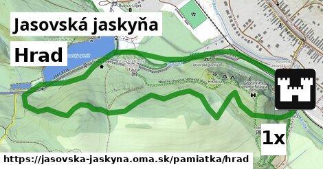 hrad v Jasovská jaskyňa
