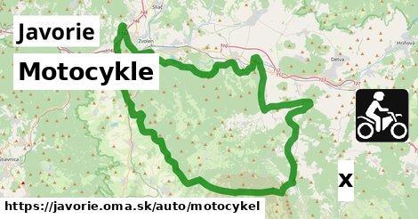ilustračný obrázok k Motocykle, Javorie