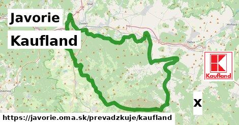 ilustračný obrázok k Kaufland, Javorie
