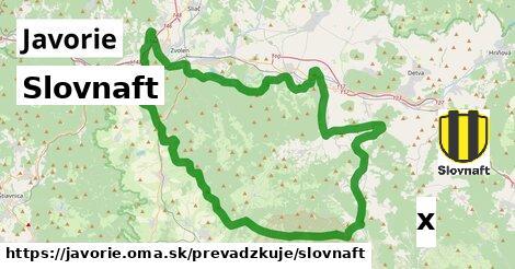 ilustračný obrázok k Slovnaft, Javorie
