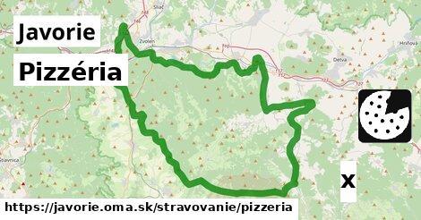 ilustračný obrázok k Pizzéria, Javorie