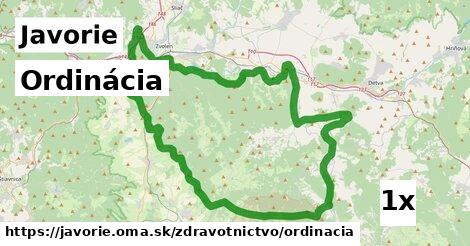 ilustračný obrázok k Ordinácia, Javorie