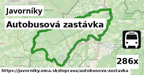 ilustračný obrázok k Autobusová zastávka, Javorníky
