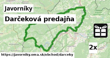 ilustračný obrázok k Darčeková predajňa, Javorníky