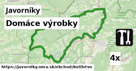 ilustračný obrázok k Domáce výrobky, Javorníky