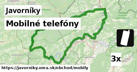 ilustračný obrázok k Mobilné telefóny, Javorníky