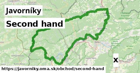 ilustračný obrázok k Second hand, Javorníky