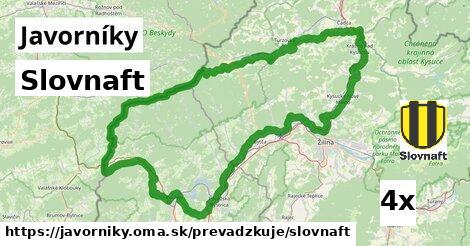 ilustračný obrázok k Slovnaft, Javorníky