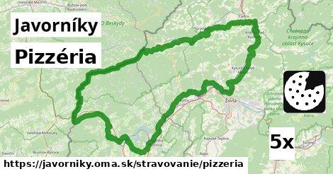 ilustračný obrázok k Pizzéria, Javorníky